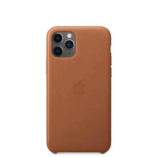 Picture of iPhone 11 Pro Leather Case  Saddle Brown