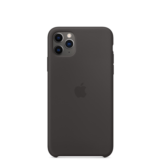 Picture of iPhone 11 Pro Max Silicone Case Black