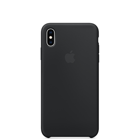 Picture of iPhone XS Max Silicone Case Black